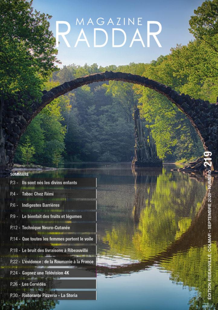 Magazine raddar - Septembre 2020