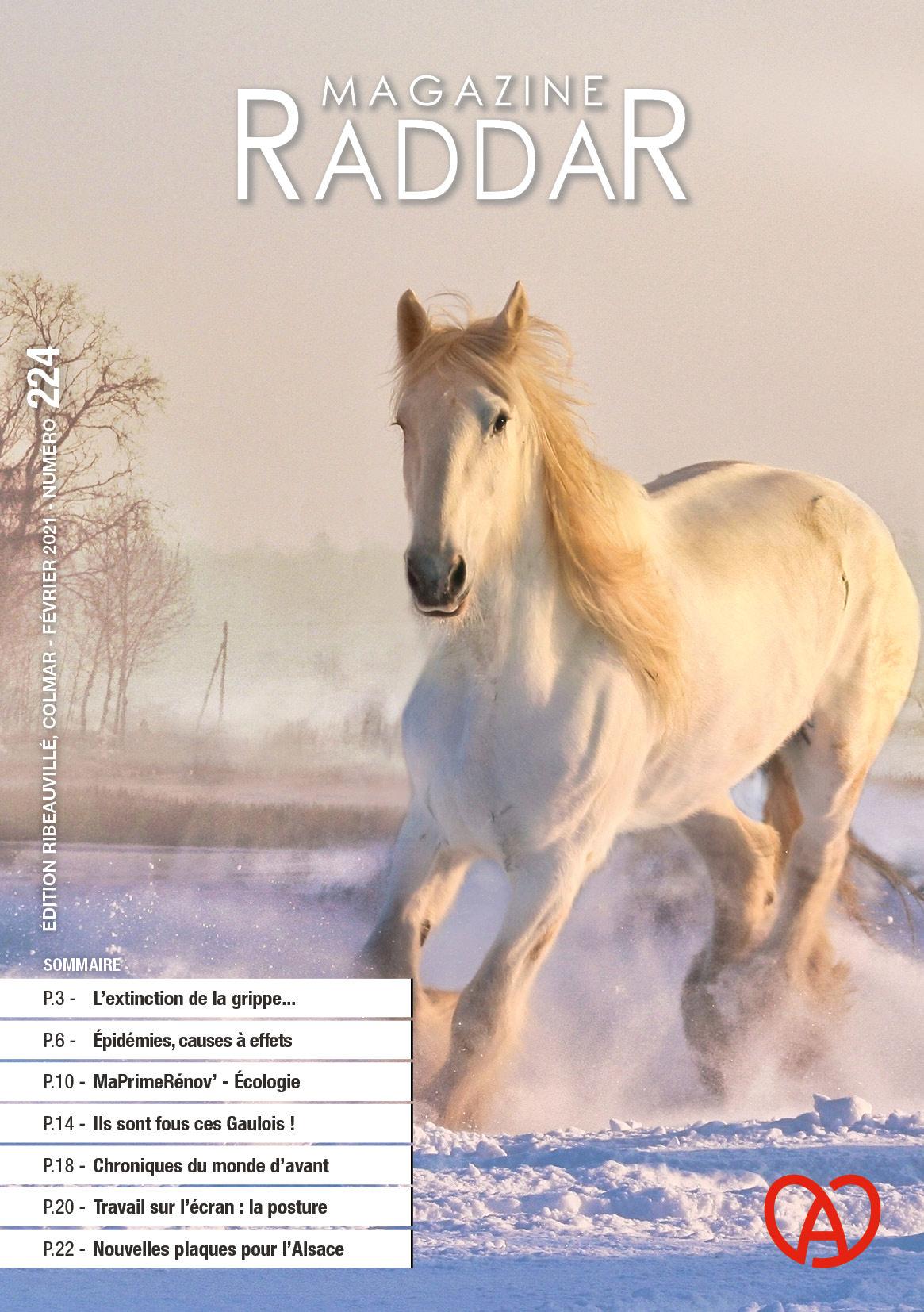 Magazine raddar - Février 2021