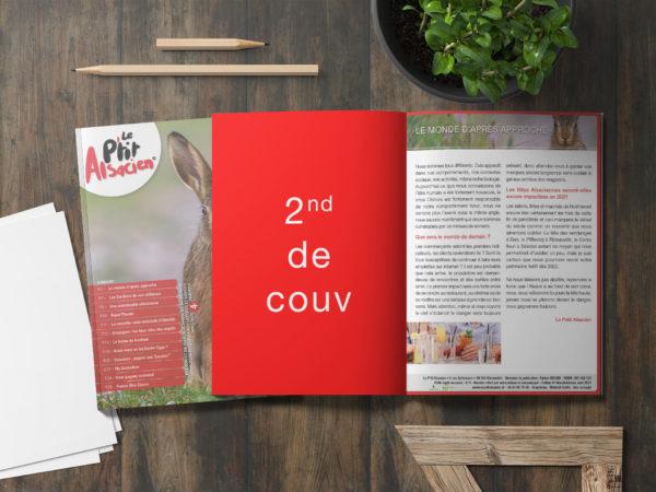 Encart publicitaire - Magazine Alsacien - 2e de couverture