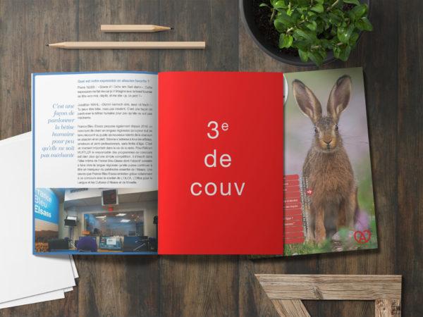 Encart publicitaire - Magazine Alsacien - 3e de couverture