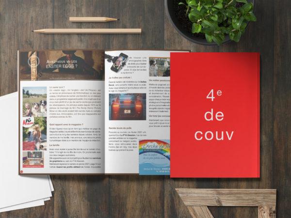 Encart publicitaire - Magazine Alsacien - 4e de couverture