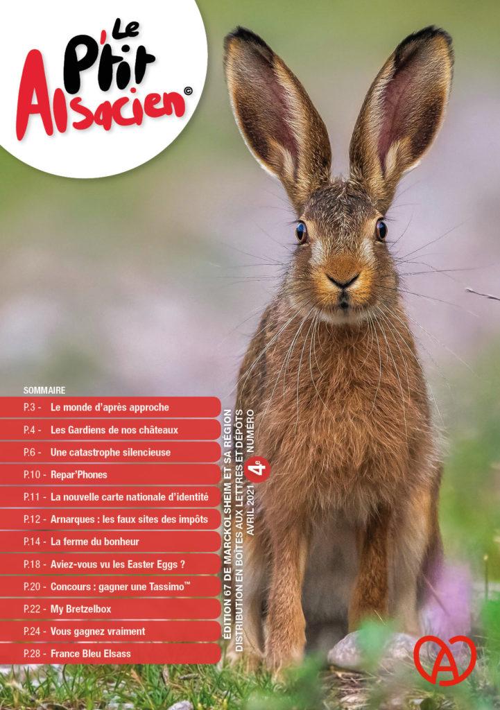 Magazine Le P'tit Alsacien - Avril 2021