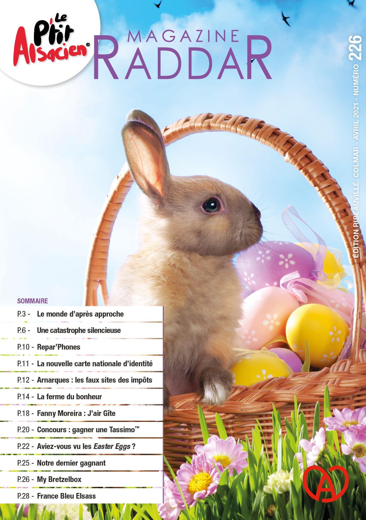 Magazine raddar - avril 2021