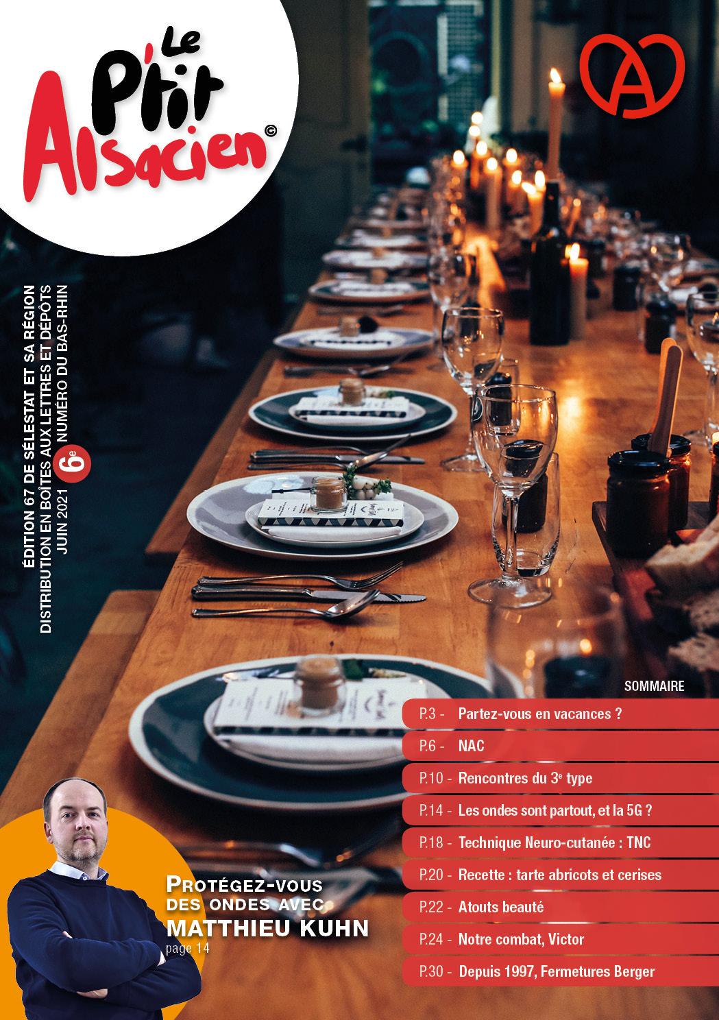 Magazine Le P'tit Alsacien - Juin 2021